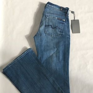 7 For All Mankind Bootcut 5-Pocket Jeans Sz 24